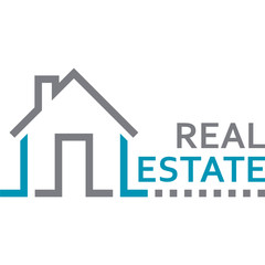 real estate / Immobilien - Zeichen
