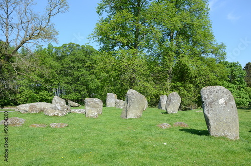 Croft Moraig stone circle, near Loch Tay in Perthshire