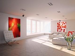 Large Lofty Living Room