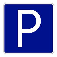 vorlage schild parkplatz