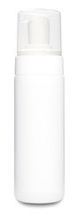 White Foam Deodorant Bottle Template