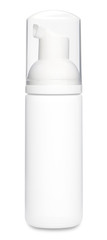 White Foam Deodorant Bottle Template