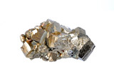Pyrite, pyrite single large cubes