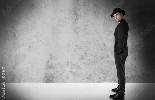 Traditional Businessman with copyspace