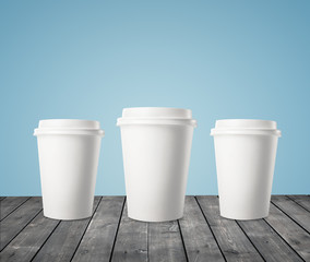 three cup of coffee