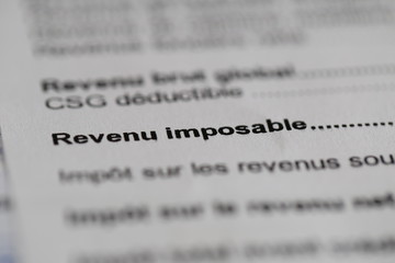 Revenu Imposable