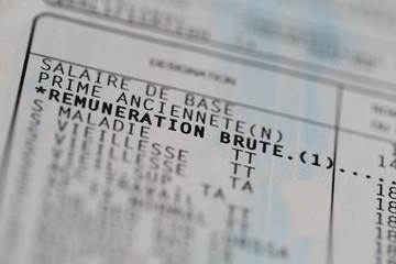 Détail Bulletin : Rémunération Brute