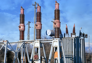 vecchia centrale elettrica di trasformazione