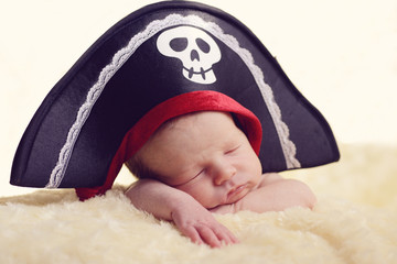 newborn pirate