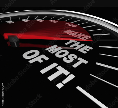 Make the Most of It Speedometer Opportunity Potential
