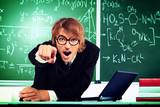 aggressive tutor