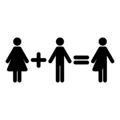 symbol how to make it unisex I