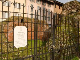 Resti Torre Civica Pavia