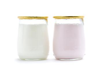 two yogurt
