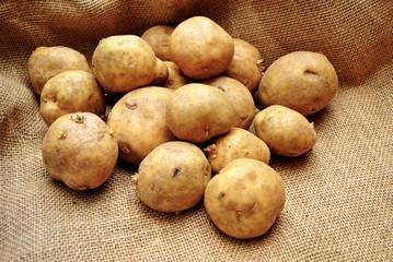 Fresh Whole Delicious Potatoes