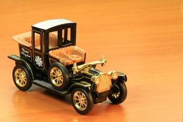 Antique model car