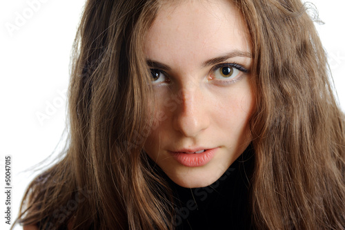 portrait of beauty woman