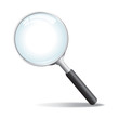 Vector Magnifying Glass - 50048043