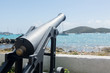 Old cannon in Charlotte Amalie St Thomas