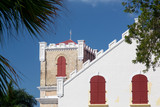 Frederick Lutheran church in Charlotte Amalie poster