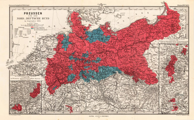 Germany old map