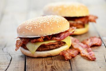Käse, Bacon