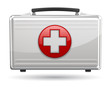 First aid box icon. Vector Illustration