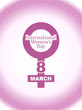 Beautiful background design for Women's day