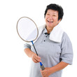 Active Asian senior