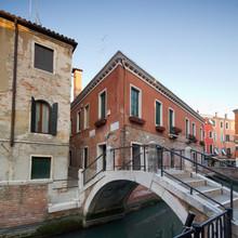 Vieille maison à Venise, Italie