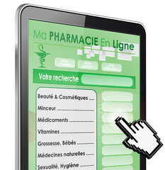 tablette tactile 3d zoom : pharmacie en ligne