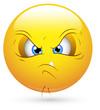Smiley Vector Illustration - Unhappy Face