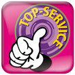 Service, App,  Service, Meisterleistung, Button, Touchscreen, Ph