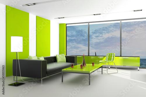 Modern Loft with Ocean View | Interior Architecture