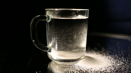 glass  and  sugar