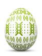 Osterei, Ostern, Ei, Muster, Grün, Punkte, abstrakt, bemalt, 3D