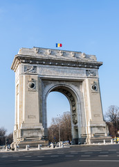 Triumph Arch - landmark in Bucharest