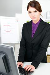 am computer arbeiten