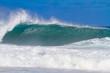 Giant Wave Break in Hawaii