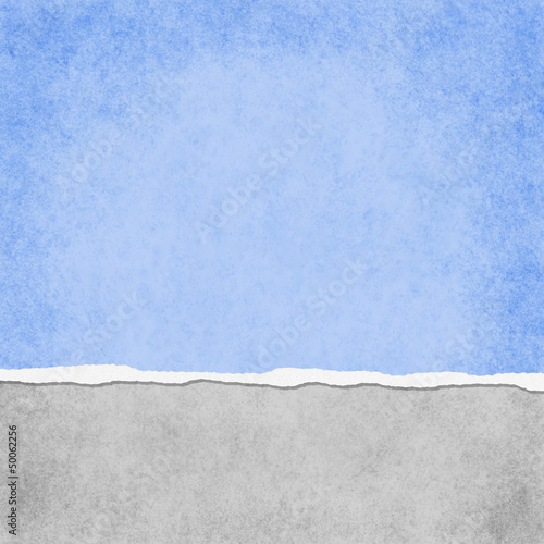 Square Light Blue Grunge Torn Textured Background