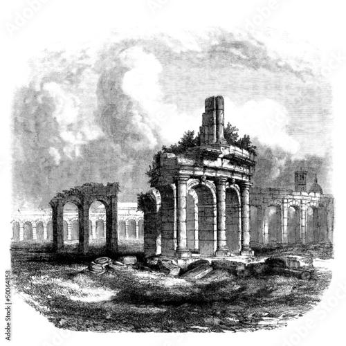 antikes-rom-amphitheater-ruinen