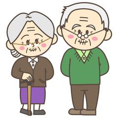 シニア 老夫婦