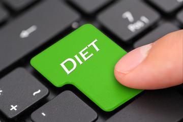 Diet button