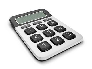Graphic representation of the calculator on a white background.