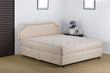 Nice and luxury bedding mattress in a set up bedroom atmosphere