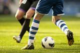 Fototapety Futbol. Dribbling