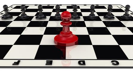 Концепция лидерства. Пешки на шахматном поле