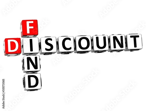 3D Find Discount Crossword