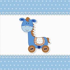 Baby Horse - Cavallino - Place your text