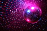Fototapety boule à facette, boule à facettes, discothéque, night club